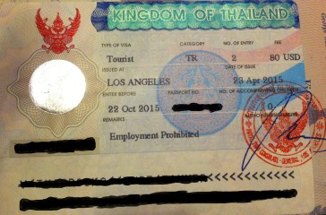 Thai Multiple Entry Visa
